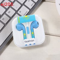 Wholesale earphone cup - 2018 Russia World Cup Football Earphone Fans Souvenir Soccer Headphone Accessories Earbuds Fit Mobile Ipad MP3