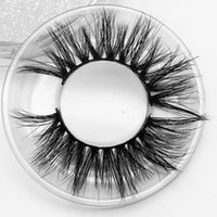 Wholesale making custom labels resale online - Yaopoly Dramatic long mink lashes mm luxury private label custom package real siberian d mink eyelashes
