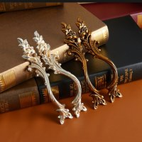 Wholesale Quality Kitchen Furniture - 3pcs High Quality European antique furniture handle kitchen cabinet handles cupboard drawer door pulls,Free shipping.