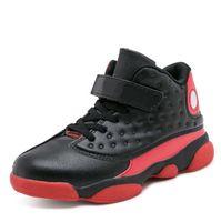 alto, alto, zapatos, estudiante al por mayor-Top nuevo niño alto baloncesto zapatos muchachos zapatos antideslizantes zapatillas de deporte juvenil zapatos de baloncesto juvenil