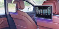 ingrosso tv headrests auto-Monitor poggiatesta per auto Android con bluetooth aux 11,6 pollici trasmettitore fm supporto per auto bluetooth HDMI Aux out / in USB SIM Card