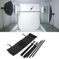 Wholesale backdrop supports resale online - 2 M Photo Background Backdrop Support Stand Kit For Photography