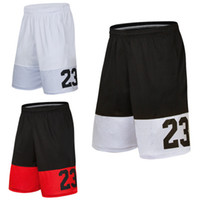 Wholesale bulk shorts - Basketball Shorts sports shorts 23 men breathe thin thin loose bulk code five pants fast dry fitness pants 166 new free shipping