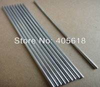 Discount steel bar rod - 5pcs stainless steel bars 7MM DIA length 200mm stick drive rod shaft coupling connecting shaft building model material