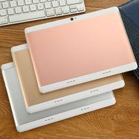comprimés pc dual sim achat en gros de-2018 Haute qualité 10 pouces MTK6572 MTK6582 IPS écran tactile capacitif dual sim 3G tablette téléphone pc 10