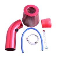 Wholesale universal intake hose for sale - Universal Reusable Mushroom Car Air Filter Large Flow Aluminum Alloy Pipe Hose Car Air Intake Filter Automobile Racing
