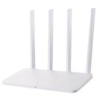 ingrosso router inglese wifi-Originale Xiaomi Mi WIFI Router300Mbps 2.4GHz WiFi Router 3C con 4 Antenna Versione Italiana
