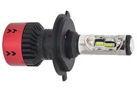 лампа h4 35 вт оптовых-35w 11 - 13v Автомобильные светодиодные фары H4 9004 H13 H15 Запасная лампа для фар 6000K Ксеноновая лампа белого цвета
