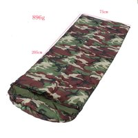 Wholesale camouflage acu - High Quality Camping ACU Camouflage Sleeping Bag Outdoor Sleeping Bags Camping Camouflage Envelope Bag