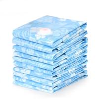 sacolas plásticas para cama venda por atacado-Saco de vácuo armário espaço poupadores vácuo sacos de armazenamento comprimido sacos de cama de poupança de espaço de plástico selo sacos PA PE