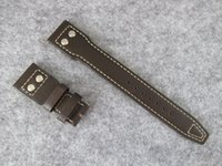 Wholesale big band - FROM ZF FACTORY BEST QUALITY ENUINE LEATHER WATCH STRAP BAND FOR 500908 BIG WATCHES 46MM BLUE LE PETIT PRINCE PILOT POWER RESERVE BRACELET