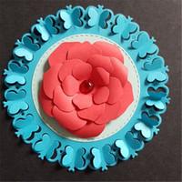 kelebek şablonlar toptan satış-3D kelebek Metal Kesme Ölür Scrapbooking Kabartma Cut Stencil DIY Noel Dekoratif El Yapımı Kart Kalıp ücretsiz kargo