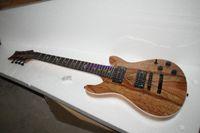 versand e-gitarre großhandel-Kostenloser versand Top Qualität Custom Shop braun Standard E-gitarre, 7 Saiten elektrische Gitarren
