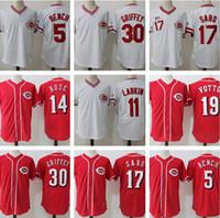 Wholesale baseball benches online - 19 Joey Votto Cincinnati Reds Jersey Chris Sabo Barry Larkin Pete Rose Johnny Bench Jerseys