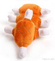пластиковые игрушки собака кости оптовых-Безопасность плюшевые звук собака игрушки скрипучий курица форма палочки конструкции жевать игрушки двойной кости нетоксичные Зоотовары 2 8rc jj