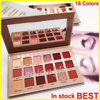 Wholesale full beauty online - Beauty New Nude Palette eyeshadow Colors eye shadow highly pigmented shades makeup Shimmer Matte eyeshadow Best Quality DHL