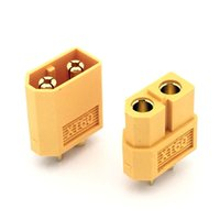 Wholesale Male Bullet Connectors - 20pcs lot Wholesale High Quality XT60 XT-60 XT 60 Plug Male Female Bullet Connectors Plugs For RC Lipo Battery