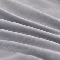 Wholesale king fleece sheet set - Thicken Winter Warm Flannel velvet 4pcs Solid gray Printed Bedding Set Suit Twin Queen king Bed Sheet Duvet Cover Pillowcase 10