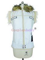 Wholesale Top Anime Cosplay Costumes Female - Katekyo Hitman Reborn Byakuran`Gesso White Vest top Cosplay Costume J001