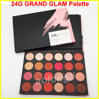 Wholesale Wholesale Direct 24 - Factory Direct 24G Eye Shadow Grand Glam eyeshadow Palette Shimmer 24 Colors Eyeshadow Palette Earth Color Lady Nude Eyeshadow Palette DHL