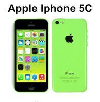 iphone 5c 16gb großhandel-Ursprüngliches freigeschaltetes Apple iPhone 5C Handy 16GB rom iphone 5C 8mp Kamera GSM / WCDMA iphone5c Beste Qualität reparierte Telefon