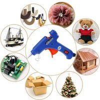 Wholesale wholesale glue gun sticks - Prostormer High Temp Heater Melt Glue Gun 20W Repair Tool Heat Gun Mini Gun EU Plug use 7mm Hot Melt Glue Sticks
