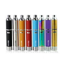 gold zerstäuber tops großhandel-Top Qualität Yocan Evolve Plus Wachs Kit Elektronische Zigarette 1100 mAh Batterie Kräuterwachs Zerstäuber mit QDC Spulen Entwickeln Plus Vape Pen Vaporizer