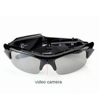 ingrosso occhiali da sole video-All'ingrosso-2017 Digital Video Recorder Camera DV DVR Guida Occhiali da sole Fotocamera 720 * 480 Videocamera Occhiali da sole per gli sport all'aria aperta