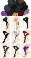 leggings médio venda por atacado-Mulheres Panty-Mangueira Sólida Apertado Primavera E Outono Médio Perna Padrão Meia-calça, Leggings, Leggings Outer KZ-06 das mulheres