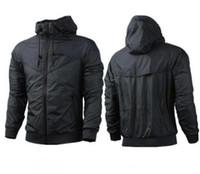 Wholesale Panel Patterns - 2018 Free shipping New Man Spring Autumn Hoodie Jacket men Women Sportswear Clothes Windbreaker Coats sweatshirt tracksuit men coat