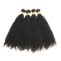 Wholesale discount hair weave extensions for sale - Group buy A very low discount Brazilian Remy Hair Weave pc Brazilian Kinky Curly Hair Human Hair Extensions