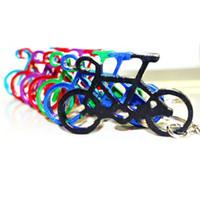 bisiklet anahtarlıkları toptan satış-Açık Edc Çok Bisiklet Bisiklet Anahtar Toka Şişe Anahtarlık Edc Anahtarlık Şişe Şarap Bira Açacağı Aracı Muilti Renkler 0 65 sb gg