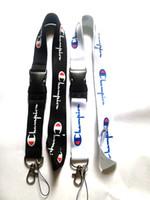 satılık boyun zincirleri toptan satış-Ücretsiz kargo SıCAK satış yeni 10 adet / grup şampiyonu spor giyim boyunluklar cep telefonu boyun anahtar zincirleri sapanlar aksesuar