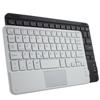 Wholesale ios laptop for sale - Group buy 59 keys Mini bluetooth keyboard for Tablet Laptop Smartphone Support For iOS Windows Android System White and Black