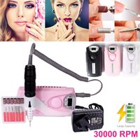 Wholesale mini manicure file for sale - Group buy MINI MOBILE Rechargeable RPM Electric Nail File Drill Machine Portable Manicure NEW Set EN101