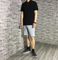 Wholesale simple drawings - Men Fashion Brand Short Sport Sweatpants Sping High quality Man Solid drawing Simple All Match Outwear Fivth Shorts Men Clothes JZ3266