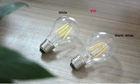 Wholesale edison decor bulb for sale - Group buy 1x V V Full Watt W W W W Edison Filament LED Ball Bulb Glass LED lamp Home Bar Decor Night light Replace Incandesc