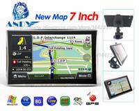 Wholesale canada antenna - katarina X7 7inch Car Gps navigation 800MHZ FM 8GB DDR 128M New Maps Russia Belarus Kazakhstan Europe USA+Canada gps navigator