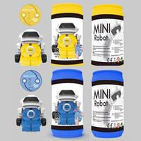 jogos elétricos para crianças venda por atacado-Brinquedo Do Jogo Da Criança do pai Walkable Música Iluminação Crianças Latas De PlásticoEducacional Brinquedos Modelo Elétrico Mini Robô 23xy hh
