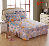 Wholesale full petticoats for sale - Group buy Home Hotel Orange Star Bed Skirt Mattress Cover Petticoat Twin Full Queen King Bed Skirts Bedspread BEDSKIRT cm cm