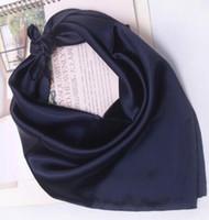homens cinzentos pretos do lenço venda por atacado-Alemanha para o tecido preto cinza branco comércio exterior de mercadorias da cauda dos homens de cor pura lenços pequenos quadrados