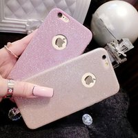 Wholesale crystal bling gel case for sale – best Diamond flash Glitter case For iPhone X S SE S Plus Ultra Thinr Bling Cute Candy Cover Crystal Soft Gel TPU Phone