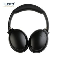 Wholesale Game Ends - High End ANC Wireless Headphones Active Noise Cancelling Bluetooth Gaming Headset Stereo Game Earbuds Bluedio Marshall QC35 With Retail Box