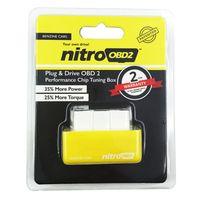 torque honda al por mayor-Caja de sintonización de chip NITRO OBD2 Más par motor Nitro OBD Unidad de enchufe Nitro OBD 2 Coches Diesel AUDI BMW HONDA SUBARU