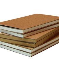 boş kroki kitabı toptan satış-Boş Sketchbook Kraft Kağıt Dizüstü Nokta Hattı Kağıt Not Defteri Taşınabilir Gezginler Hatıra Kroki Kitap Düğün Hediyeleri Dekorasyon
