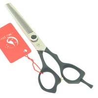 thin steel Australia - Meisha 6.0 Inch Hair Thinning Scissors 440c Japanese Steel Hairdressing Cutting Scissors Salon Hairdresser's Clipper Barber Suppliers HA0440