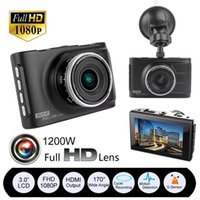 Wholesale digital dvr cctv online - 3 quot Full HD P Car DVR CCTV Dash Camera G sensor Vehicle Video Cam Recorder DHL