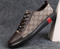 e51f0e201 Sapatos casuais populares verão nova sapatilha tendência sapatos versão  coreana de baixo-top de moda sapatos masculinos de couro, sapatos casuais,  ...