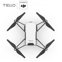 Wholesale DJI Tello Mini Drone P HD Transmission Camera APP Remote Control Folding Toy FPV RC Quadcopter Drones with EZ Shots