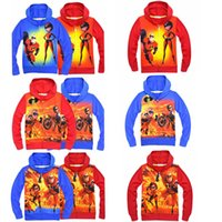 Wholesale hoodie super for sale - Group buy 6 color Super Hero zipper hoodie Baby boys print coats autumn Hoodies Cardigan zipper shirt Jacket Outdoor Clothing MMA307